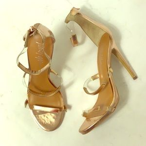 Nasty Gal In for the Thrill Perspex Strap Heels 9B